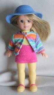 Madame Alexander Doll Hanna Pepper doll blonde cute little girl hat