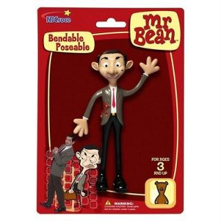 Mr.Bean Bendable Posable Bumbling Brit Animated Quirky Lovable
