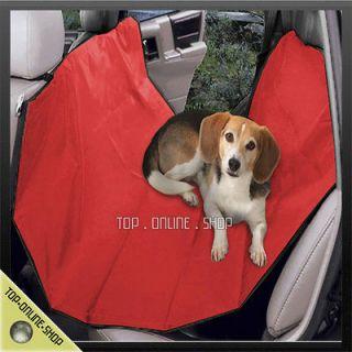 Car Vehicle Back Rear Seat Red Hammock Cushion Bed Blanket Mat D189