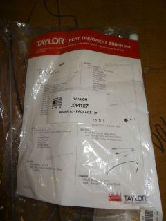 Taylor Soft Serve Ice Cream Machine Heat Treatment Brush Kit X44127