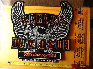 Harley Davidson big eagle patch Rare