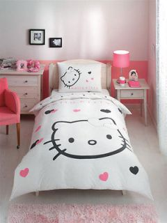 Hello Kitty Hearts, Bedsheet Set, Single