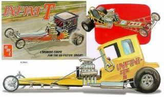 AMT INFINI  T front engine dragster model kit 1/25