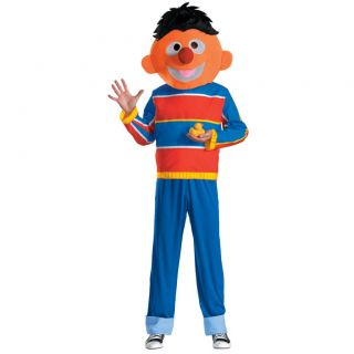 Child Boys TV Sesame Street Bert & Ernie Ernie Costume