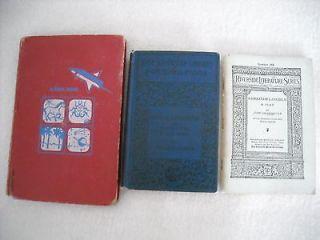 Vintage Books ABRAHAM LINCOLN A PLAY, GEORGE WASHINGTON, BIOGRAPHY + 1
