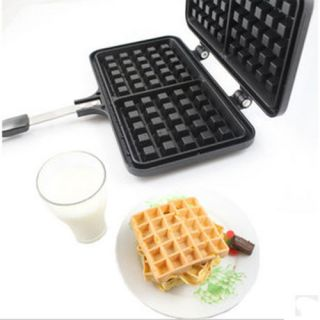 NEW Practical Kitchen Biscuit Pan Mold cookware Belgian Waffle Maker