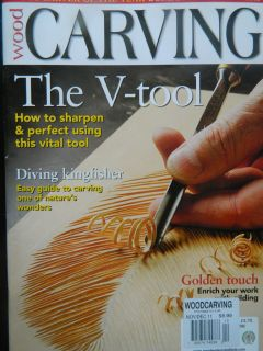 Wood Carving Magazine Dec 2011  UK   The V Tool Sect A