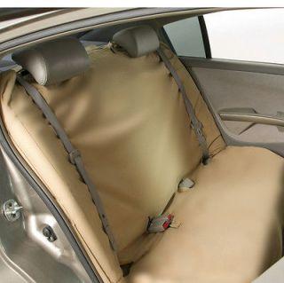 Bergan Comp/Med Bench Seat Protector Cover Tan Car Van Truck Auto Pet