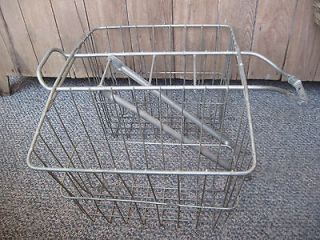 vintage bicycle basket