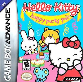 Hello Kitty Happy Party Pals (GameBoy Advance) SP DS