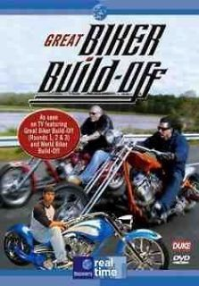 Great Biker Build Off 4DVD Series 1 to 13 Indian Larry Billy Lane
