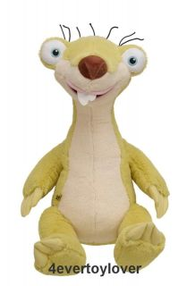 Build A bear Ice Age SID Exclusive STUFFED LIMITED EDITION NEW Plush