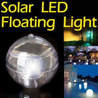 SOLAR LED FLOATING SWIMMING POOL BALL LIGHT LAMP