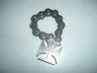 BRACELET BICYCLE CHAIN WEST COAST CHOPPERS BOTTLE OPENER HEAVY STURDY