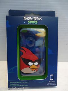 Apple iPod Touch Gear 4 Angry Birds Space Red Bird Case Cover 4th GEN