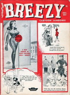 Breezy Lot of 5 Issues in PDF format Bill Ward Wenzel Bettie Page