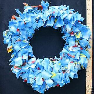 LARGE BIRDIE BINKIE RING BLUE bird toy parrot toys
