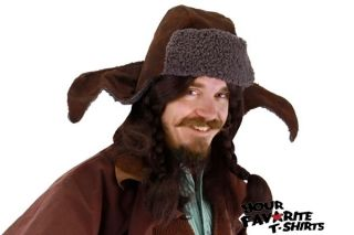 The Hobbit Bofur The Dwarf Hat Costume Cosplay Licensed