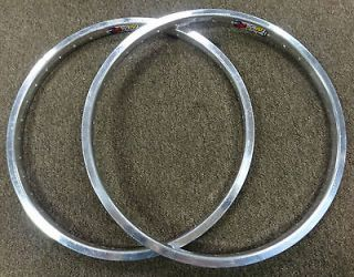 Zac 4019 20 inch Rims a pair for Old School BMX Bike Single Wall Alloy