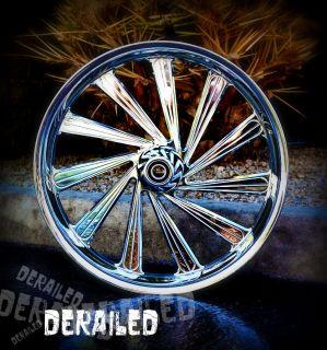 21 inch Custom Motorcycle wheel rims for HONDA FURY metric cruiser