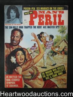 Mans Peril Oct 1965 Bill Ward / Vicki Kennedy