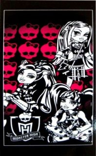 HIGH SKULLS GIRLS BLACK / PINK BEACH / BATH TOWEL GREAT GIFT IDEAS