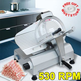 Commercial 10 Blade Electric Meat Slicer 240w 530RPM Deli Food Cheese