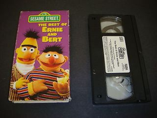 The Best of Ernie & Bert, VHS, Sesame Street, CTW