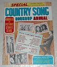 COUNTRY SONG ROUNDUP ANNUAL MAGAZINE LORETTA LYNN HANK WILLIAMS J