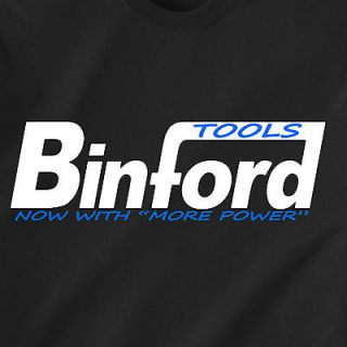 """BINFORD Tools now with """"more power"""" home improvement tim abc retro"""