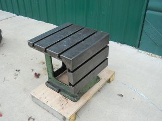 CAST IRON T SLOTTED BOX TABLE for RADIAL ARM DRILL PRESS 20 x 20 1/2 x