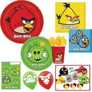 Angry Birds Ultimate Birthday Party Supplies Pack U Pick Plates