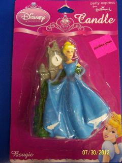 Dreamland Disney Princess Kids Birthday Party Molded Cake Candle