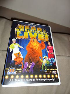 Bear In The Big Blue House Live DVD Video Movie