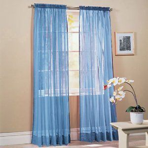 Dr Window Curtain Grommet Panel 54x84 Granada Blue Chocolate Brown