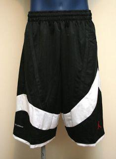 Air Jordan Nike Jumpman AJ10 Mens Basketball Shorts Black/White