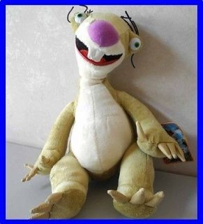 Sid the Sloth Ice Age Continental Drift Plush Animal Doll Toy 12