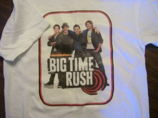 NEW BIG TIME RUSH T SHIRT. GIRLS / BOYS YOUTH SIZES BTR