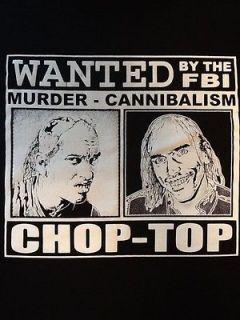 RottenCotton Texas Chainsaw Massacre Bill Moseley T Shirt NEW