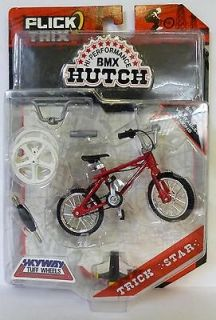 HUTCH Trick Star Flick Trix BMX Red FingerBike 2009