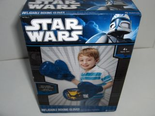 STAR WARS BOXING GLOVES Inflatable Childs Boxing Gloves Hedstrom Kids