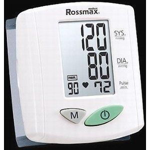 Hospital Quality Automatic Wrist Blood Pressure Monitor by Rossmax RRP