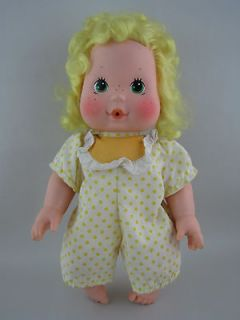 Baby Lemon Meringue Blow Kiss Doll Original Dress Vintage Strawberty