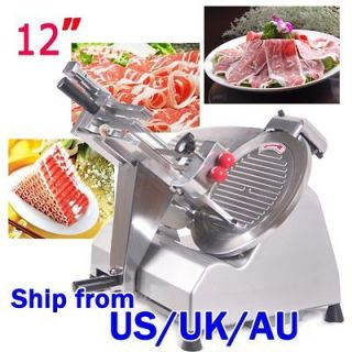 STRONG PACKING 12 BLADE SEMI AUTOMATIC FOOD MEAT SLICER HIGH