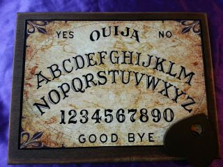 Bizarre Magick Old World Ouija Board & Planchett weeja fortune telling