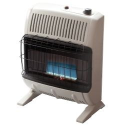 Heater MRHF255682 Vent Free 20,000 BTU Blue Flame, Natural Gas Heater