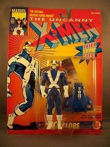 Cyclops X Factor Costume Figure X Men 1993 Toy Biz