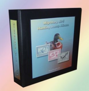 Migratory Bird Hunting Stamp Album Binder (Federal Duck)