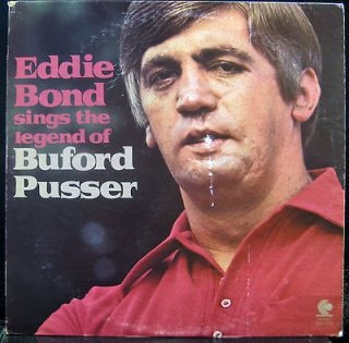 EDDIE BOND the legend of buford pusser LP VG+ ENS 1038 Vinyl 1973