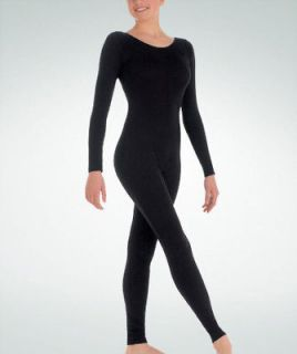 Body Wrappers 217 Adult Size Extra Large Black Full Body Long Sleeve